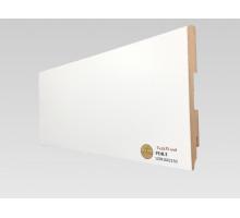 Плинтус белый из МДФ, 120х16мм