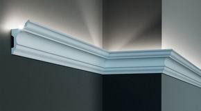 Потолочные плинтуса с подсветкой