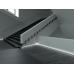 Плинтус белый из МДФ под подсветку, 12х80мм