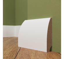 Плинтус белый из МДФ, 16х60мм