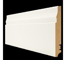 Плинтус белый из МДФ, 16х100мм