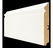 Плинтус белый из МДФ, 16х120мм