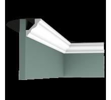 Плинтус белый из дюрополимера CX110 45x41мм