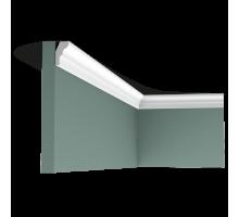 Плинтус белый из дюрополимера CX111 26x15мм
