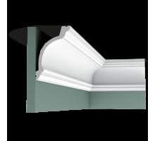 Плинтус белый из флекса C217F 103x156мм