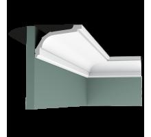 Плинтус белый из флекса C220F 76x116мм