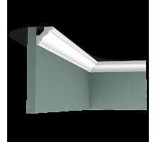 Плинтус белый из флекса C230F 29x29мм