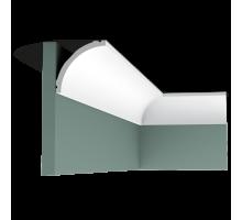 Плинтус белый из флекса C240F 80x80мм
