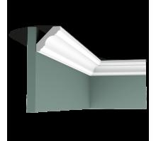 Плинтус белый из полиуретана C215 47x47мм
