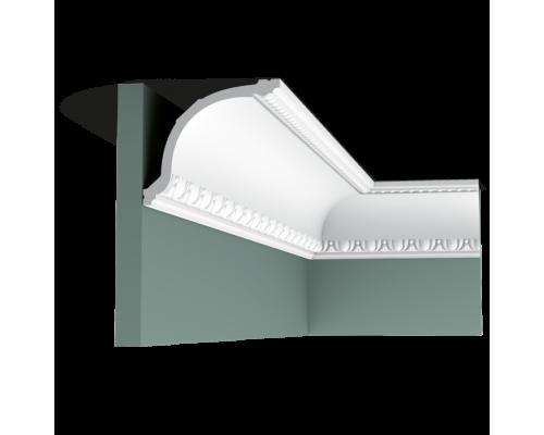 Плинтус белый из полиуретана C216 116x133мм