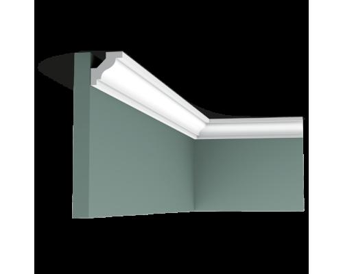 Плинтус белый из полиуретана C230 290x290мм