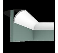 Плинтус белый из полиуретана C240 80x80мм