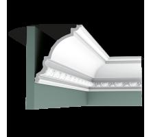 Плинтус белый из полиуретана C301 170x144мм
