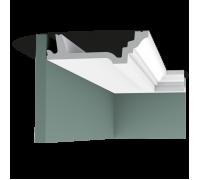 Плинтус белый из полиуретана C305 47x155мм