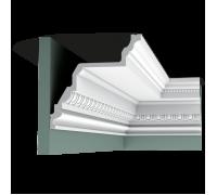 Плинтус белый из полиуретана C307 195x195мм