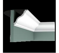 Плинтус белый из полиуретана C333 122x111мм