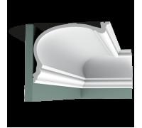 Плинтус белый из полиуретана C343 HERITAGE XL 190x250мм