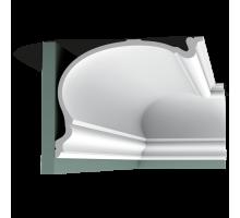 Плинтус белый из полиуретана C344 HERITAGE XXL 273x350мм
