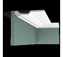 Плинтус белый из полиуретана C354 40x215мм