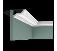 Плинтус белый из полиуретана C400 60x100мм