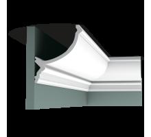 Плинтус белый из полиуретана C900 171x146мм
