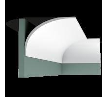 Плинтус белый из полиуретана C990 INFINITY 159x216мм