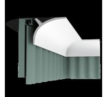 Плинтус белый из полиуретана C991 110x140мм