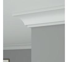 Плинтус белый из МДФ, 30х31мм