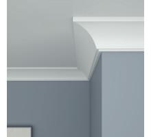 Плинтус белый из МДФ, 42х44,3мм