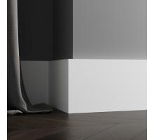 Плинтус белый из МДФ, 140х18мм